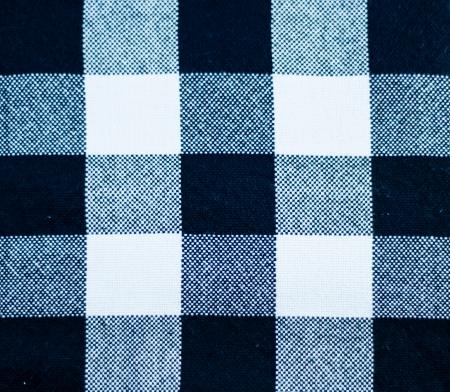 Black and white scott fabric texture