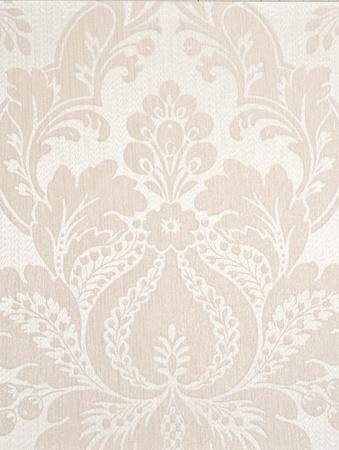 ivory textile wallpaper. floral pattern background.