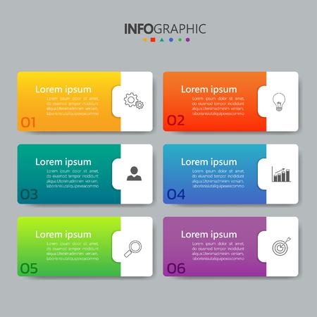 Illustration pour Infographics banner design vector - image libre de droit