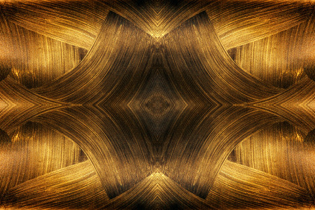 The Texture Of Black Gold Abstract Fractal Fractal Art
