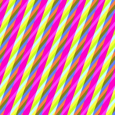 Abstract yellow purple seamless oblique irregular striped pattern