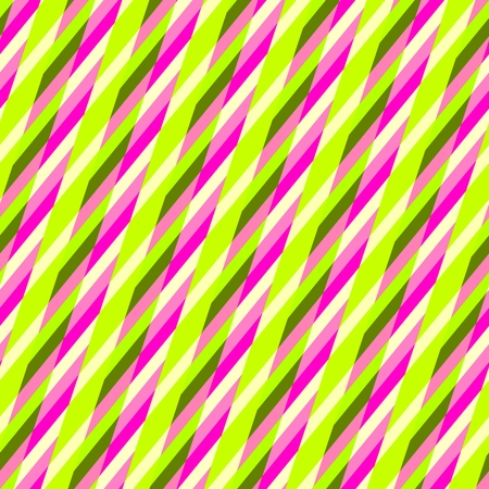 Abstract yellow pink purple seamless oblique irregular striped pattern