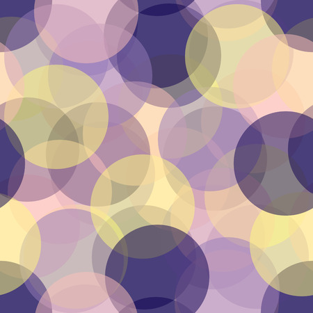 Illustration for Colorful seamless circles pattern - Royalty Free Image