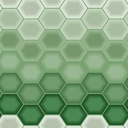 Illustration pour Green tiles. Seamless vector pattern - image libre de droit