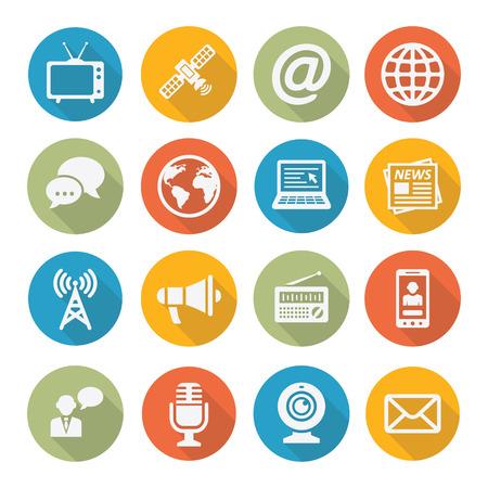 Illustration pour Media Icons - image libre de droit