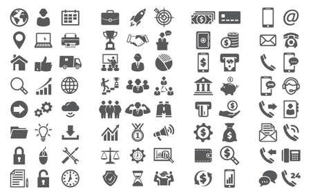 Illustration pour Vector set icons Icons for - image libre de droit