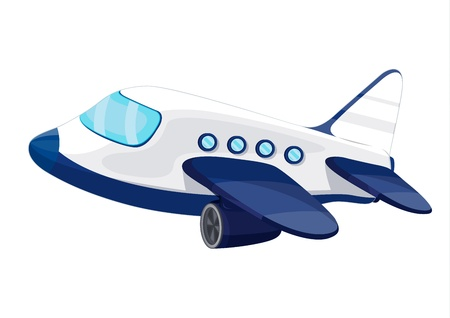 Illustration for Illustration of private jet plane - Royalty Free Image