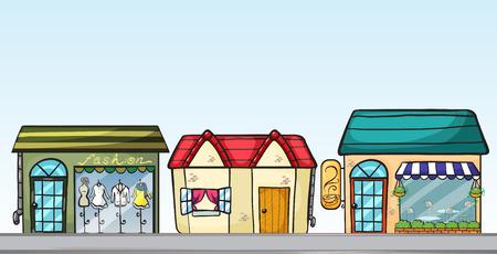Illustration of the business establishments