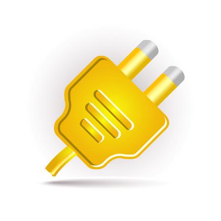 yellow plug in