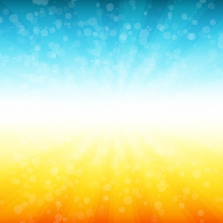 Illustration pour Vector Summer time background. - image libre de droit
