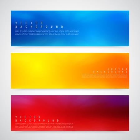 Illustration pour Flyer template header design. - image libre de droit
