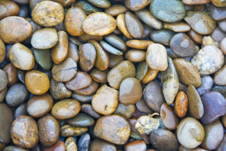 background with round pebbles