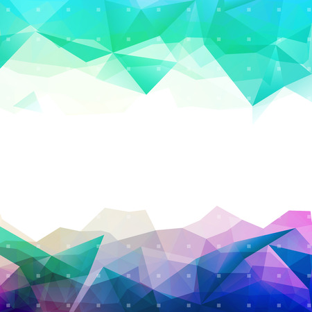 Geometric abstract colorful low poly background
