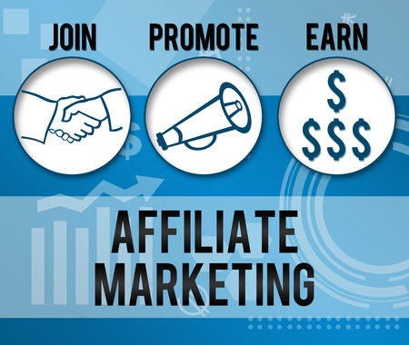 Affiliate Marketing Business Theme Background