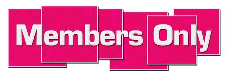 Photo pour Members Only Pink Texture Blocks - image libre de droit