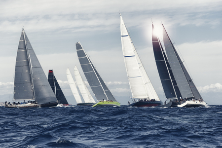 Photo pour sial boat race cool toned - image libre de droit