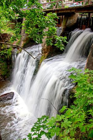 Aleksupite waterfall in Kuldiga