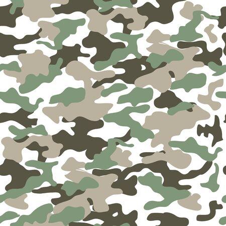 Illustration pour Camouflage seamless pattern, military uniform print, background,army,soldier - image libre de droit
