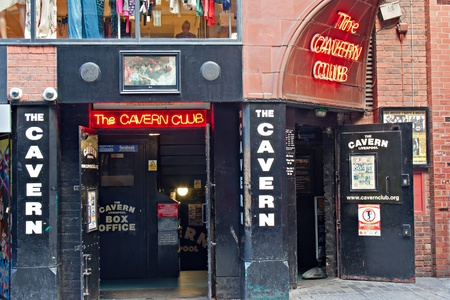 The Cavern Club, in Mathew St, Liverpool, UK