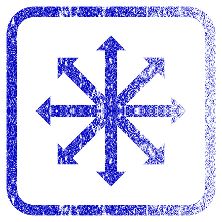 Expand Arrows textured icon for overlay watermark stamps