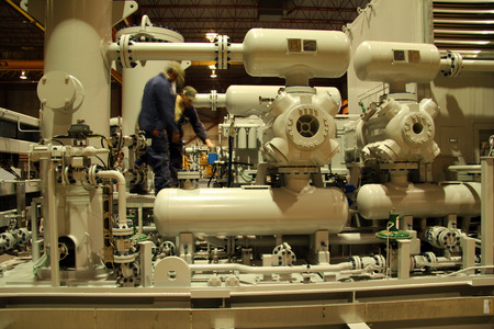 Compressor staion