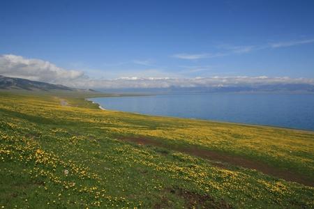Sayram Lake,Xinjiang Province,China