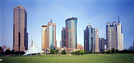 City scene of Shanghai,China