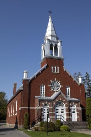 Rural brick Church