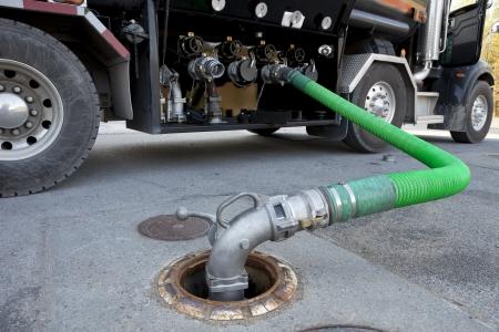 Fuel Delivery Tanker