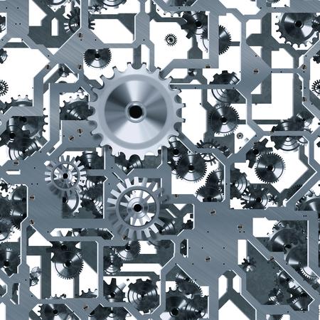 clockwork silver seamless