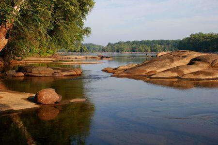 Photo for James river, near Richmond, Virginia - Royalty Free Image