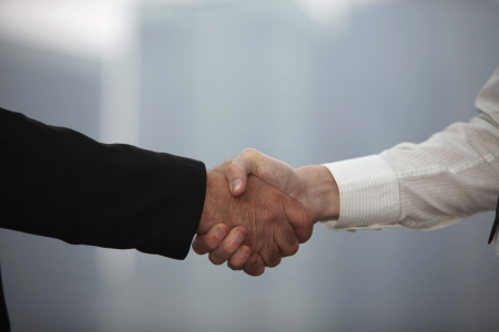 Photo for Businessmen shaking hands - Royalty Free Image