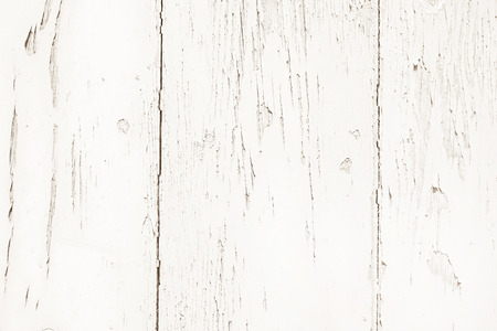 Shabby chic: old wood background in white color - patterned and rustic.