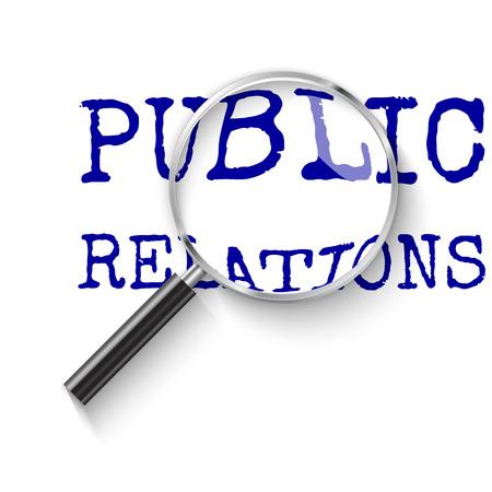 Public relation. PR in focus.