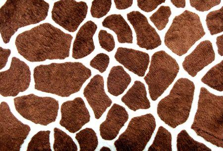 Giraffe skin pattern for background