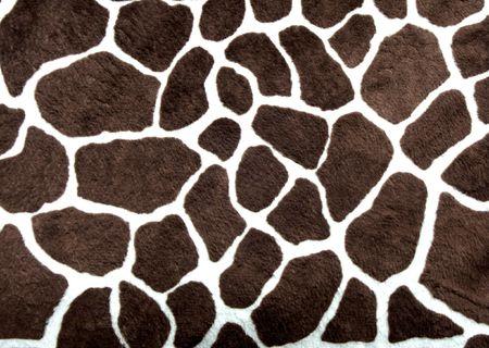 Very dark giraffe spots for background