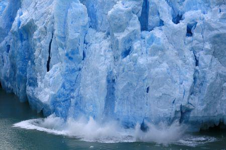 Glacier Bay Fjord - the icy waters of Alaska, USA