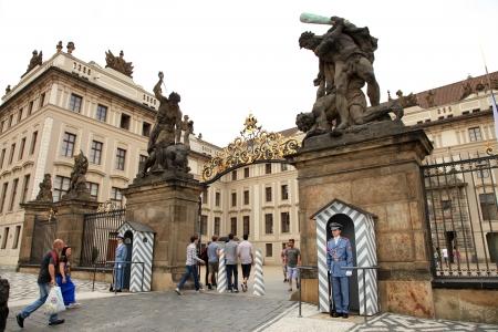 Prague Castle Guard in Czech Republic