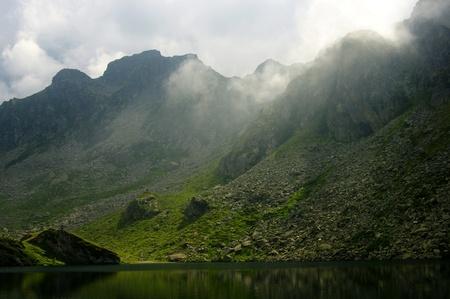 Lac du mont Viso