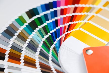 Photo for Close-up of color guide catalog - Royalty Free Image