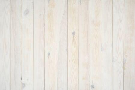 Foto de Pine boards painted white, texture - Imagen libre de derechos