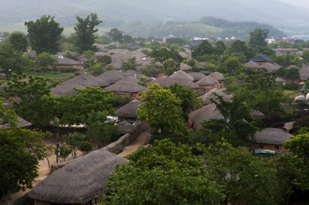 Traditional village in South Korea,Naganeupseong