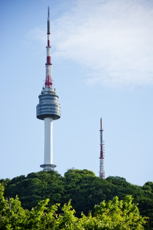 Namsan  Park Namsan Tower