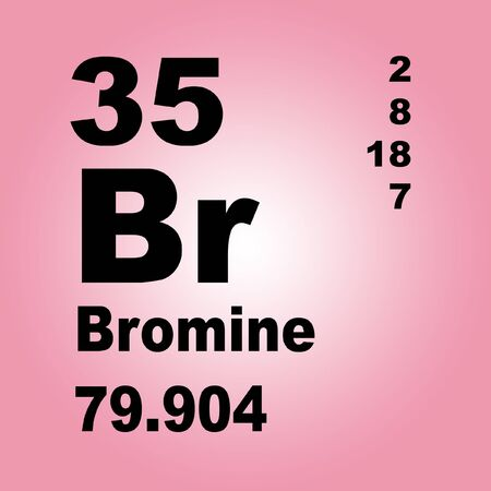 Bromine is a chemical element with symbol Br
