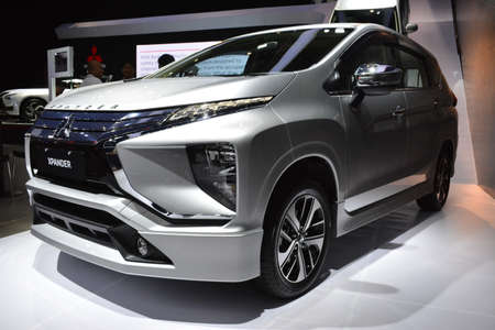 Photo pour PASAY, PH - OCT 27 - Mitsubishi xpander at Philippine International Motor Show on October 27, 2018 in Pasay, Philippines. - image libre de droit
