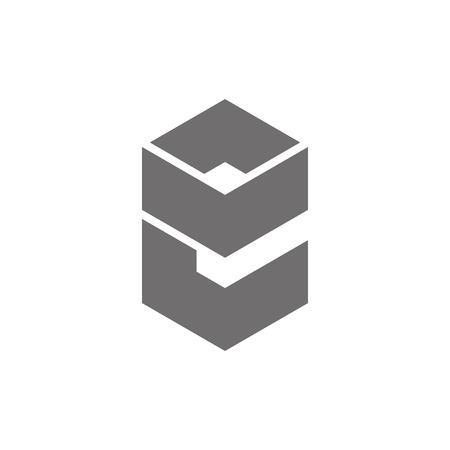 Letter E Logo Concept Icon. Vector illustration