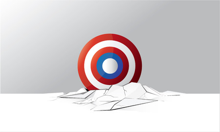 Target Shield Ground Crack