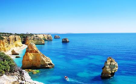 Algarve beach marinha, Portugal