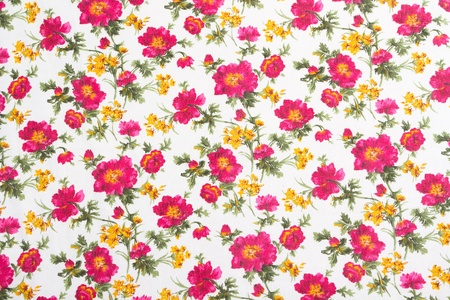 Floral pattern on seamless cloth. Flower bouquet. Vintage style