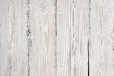 Photo pour Wood Planks Texture, White Wooden Table Background, Floor or Wall - image libre de droit